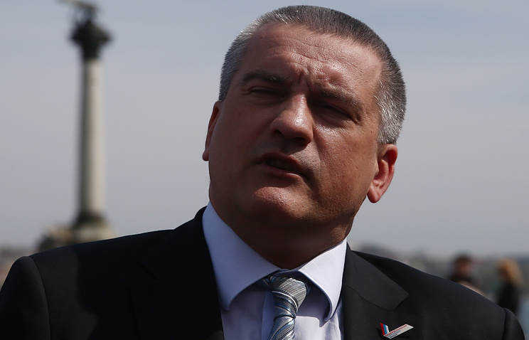 Acting Crimean head Sergey Aksyonov