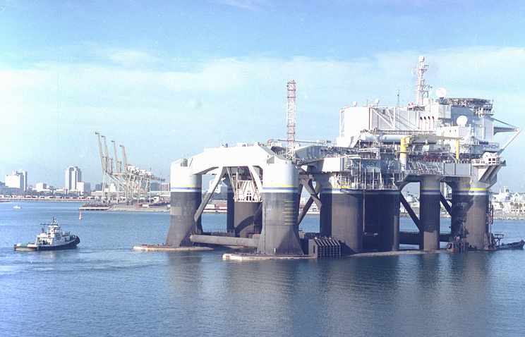 Odysseus Sea Launch platform (archive)