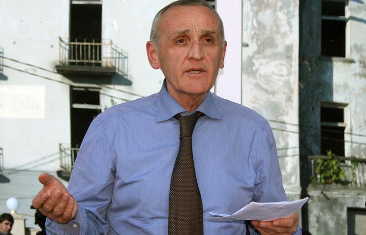 Abkhazian President Alexander Ankvab