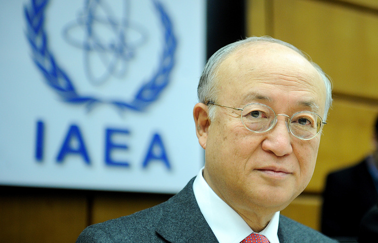 Director General of the International Atomic Energy Agency (IAEA) Yukiya Amano