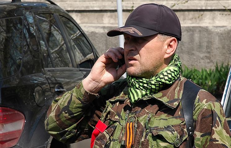 People's mayor of Sloviansk Vyacheslav Ponomaryov