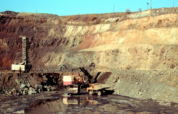 A zinc and lead deposit in Russia (archive)