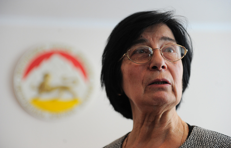 Head of the South Ossetia Central Elections Commission Bella Pliyeva
