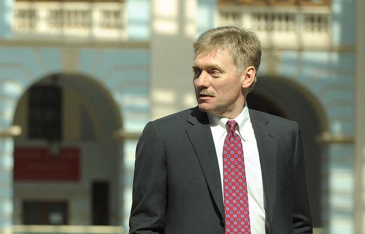 Presidential spokesperson Dmitry Peskov
