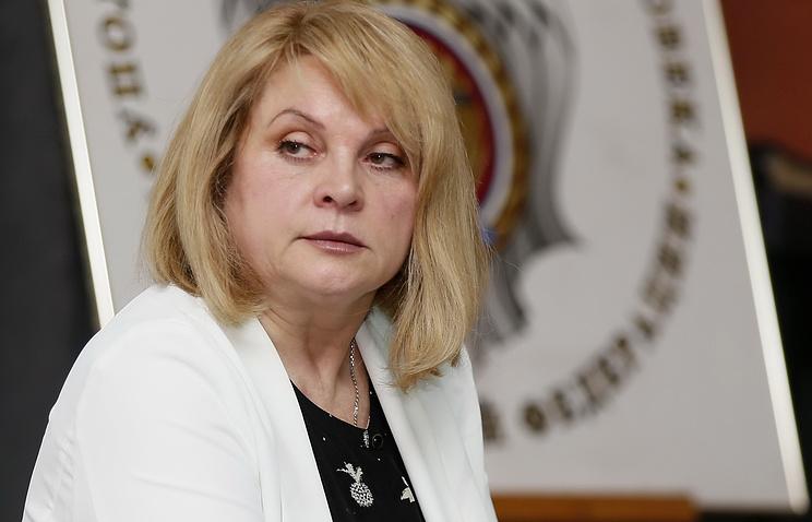 Russia's human rights ombudsperson Ella Pamfilova