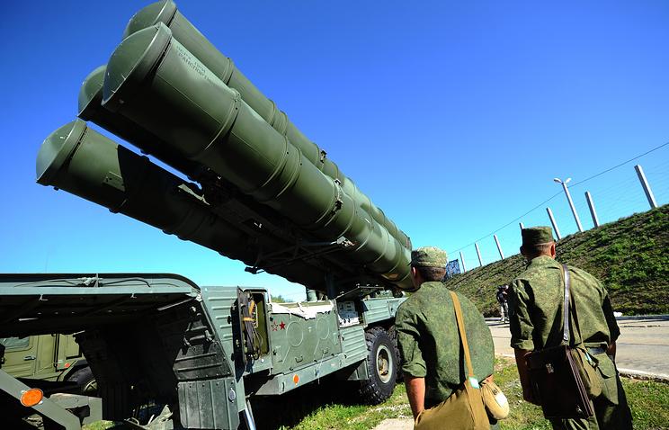 S-400 Triumf defense system