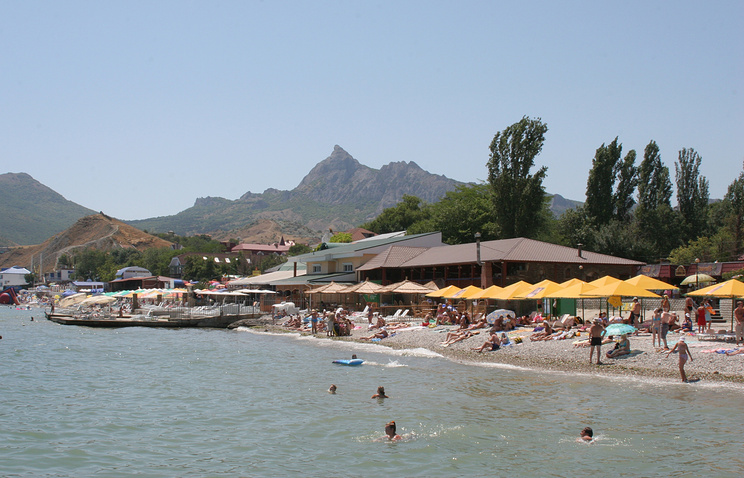 A view of Crimea's Koktebel (archive)