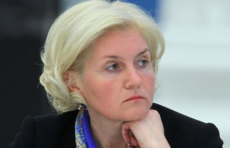 Deputy Prime Minister of the government of the Russian Federation Olga of Golodets