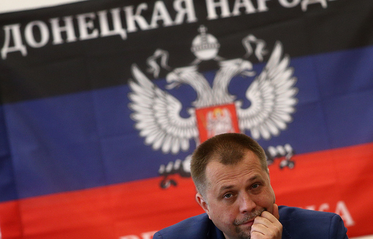 Alexander Borodai, the prime minister of the self-proclaimed Donetsk People's Republic,