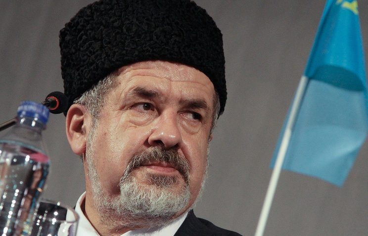 Head of Crimea Tatar people's Majlis Refat Chubarov