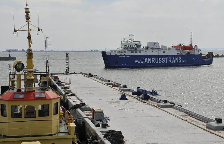 Ferry crossing Crimea - Caucasus