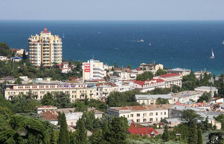 A view of Crimea's Yalta