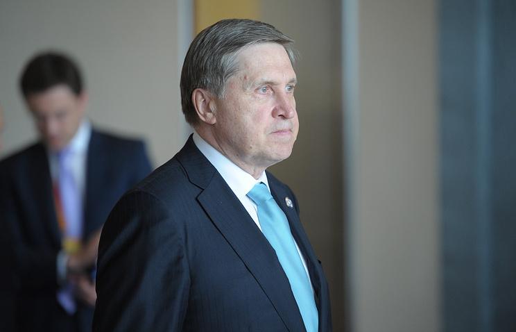 Russian presidential aide Yuri Ushakov