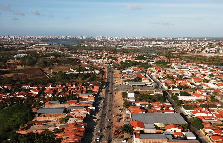 View of Fortaleza in Brazil where the BRICS business forum on inclusive economic growth kicks off on July 14