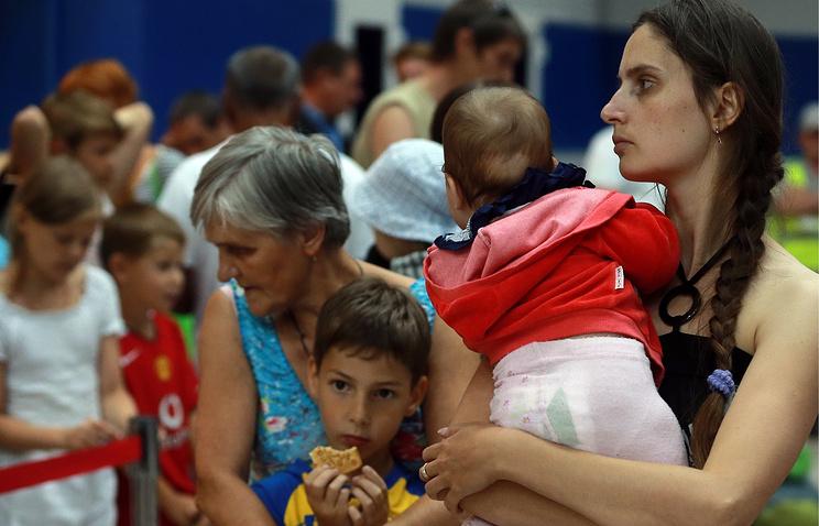 Ukrainian refugees