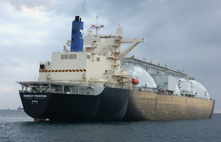 An LNG tanker (archive)