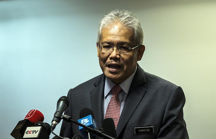 Malaysia's Deputy Foreign Minister Hamzah Zainuddin