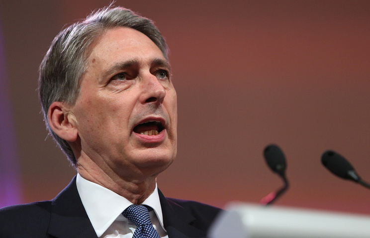 British Secretary for Foreign Affairs Philip Hammond