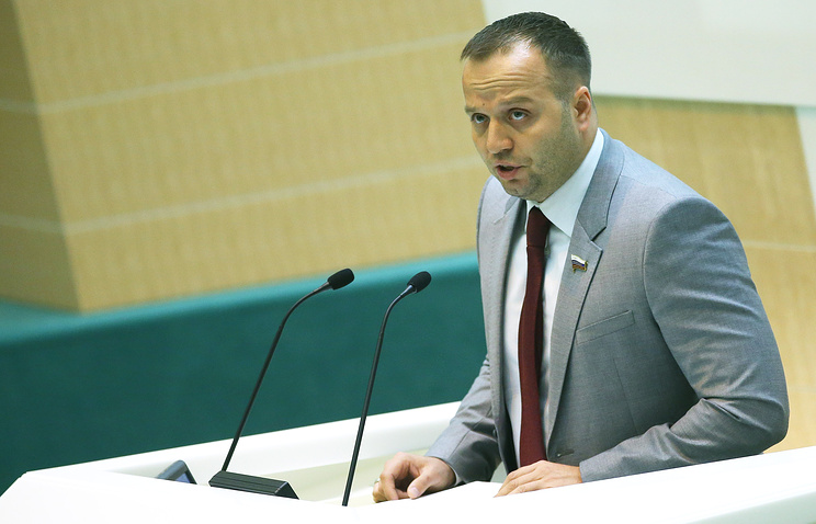 Deputy head of the constitutional legislation committee at the Federation Council upper house of parliament Konstantin Dobrynin
