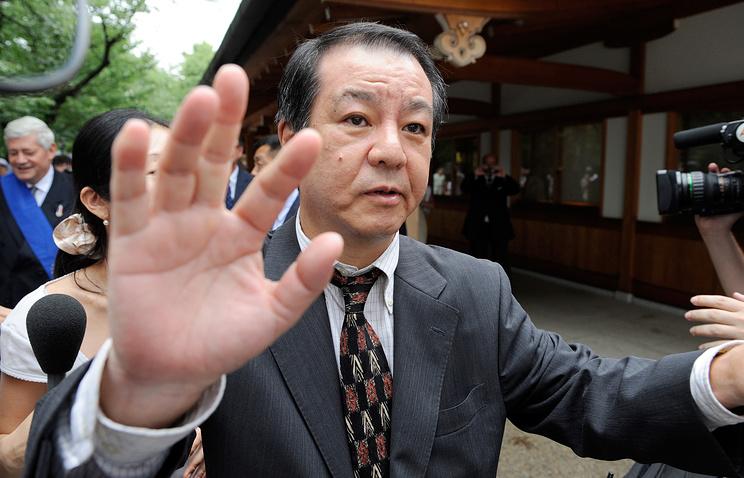 Mitsuhiro Kimura, Chairman of Issuikai, a Japanese right-wing group