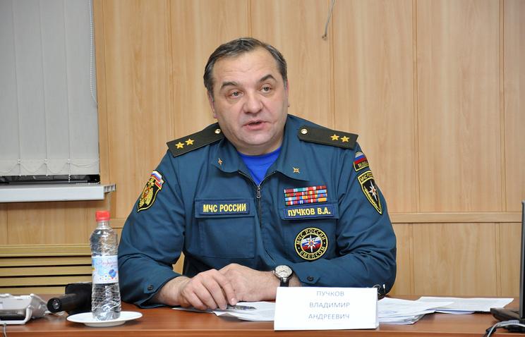 Russia's Emergencies Minister Vladimir Puchkov
