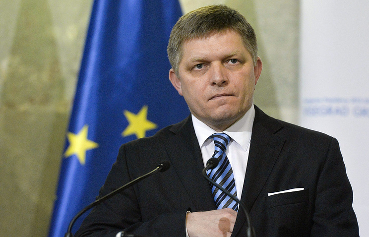 Prime Minister of Slovakia Robert Fico