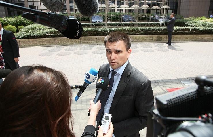 Ukrainian FM's spokesman