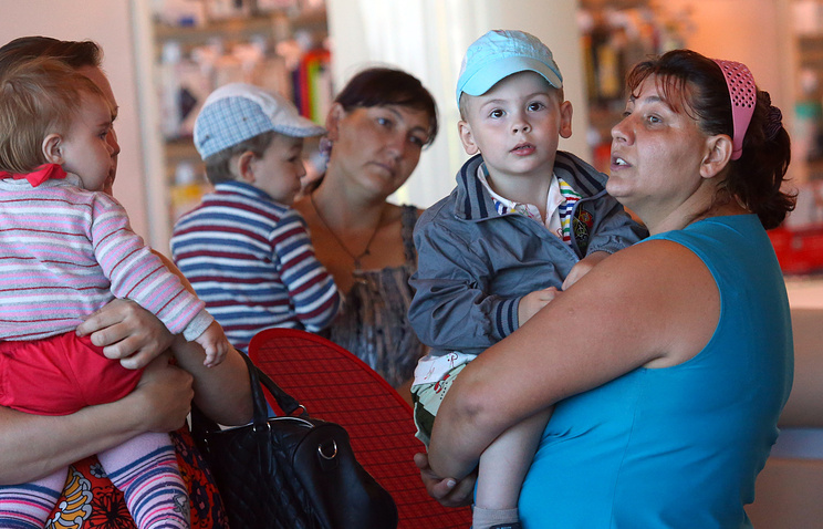 Ukrainian refugees in Moscow