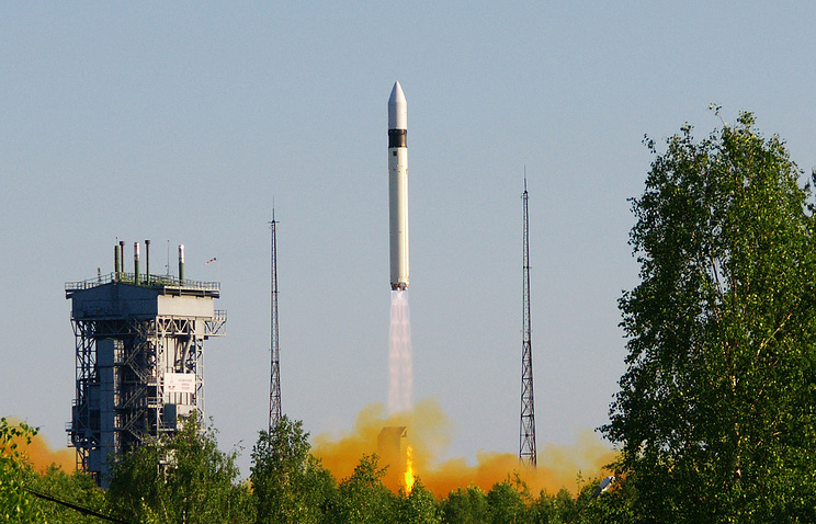 Rokot light space vehicle launch