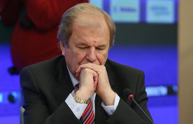 Executive director of Russia's Hockey Federation Valery Fesyuk