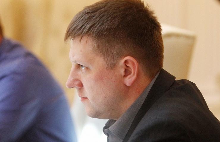 Speaker of Luhansk People's Republic's legislature Alexei Karyakin