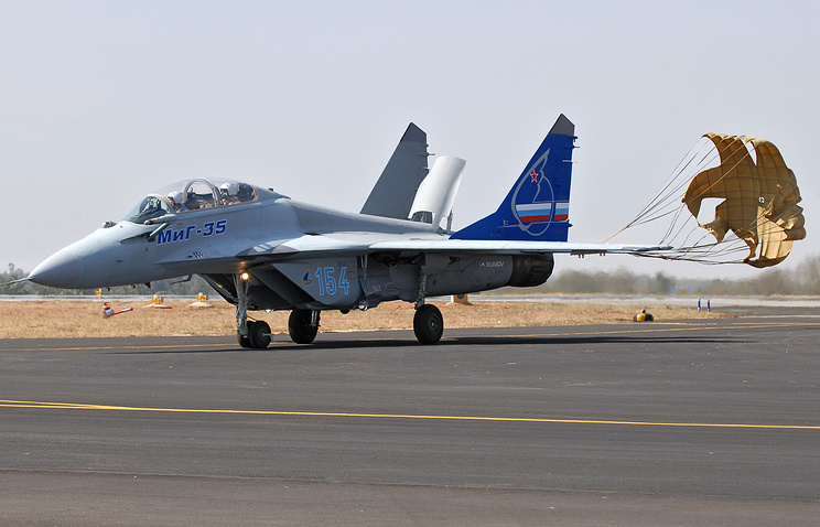 A MiG-35 fighter