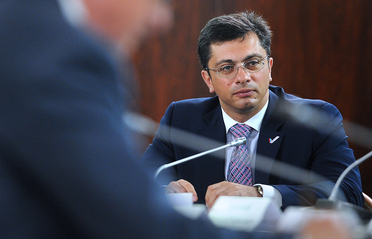 Russian State Duma's deputy head of the committee on industries Vladimir Gutenev