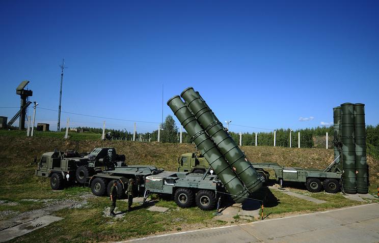 S-400 Triumph air defense system