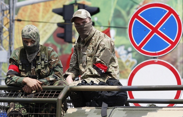 Radical nationalists in Ukraine