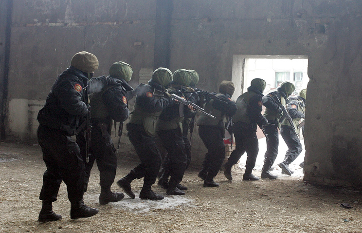 Special forces in Kyrgyzstan