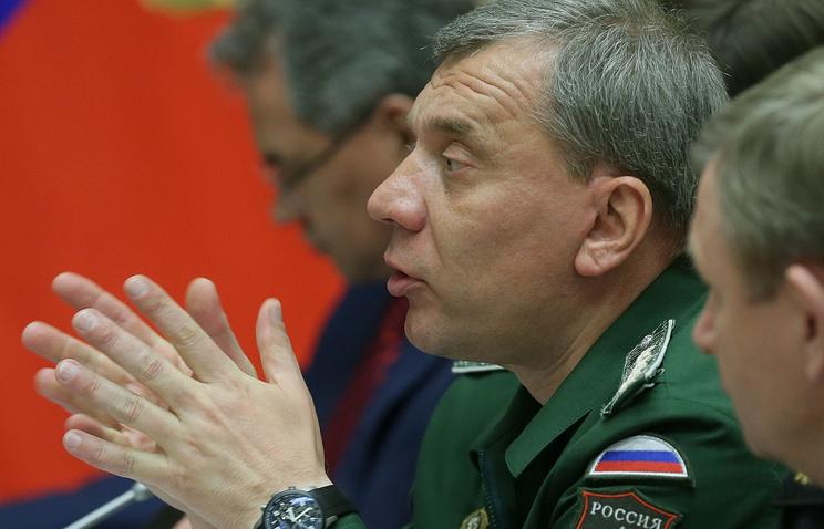 Deputy Defense Minister Yuri Borisov