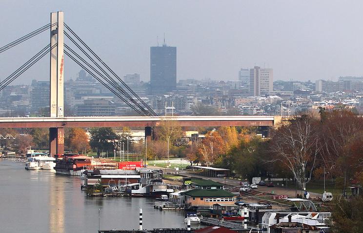 Serbia's capital Belgrade