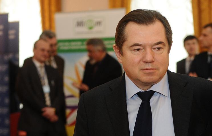 Russian presidential aide Sergey Glazyev