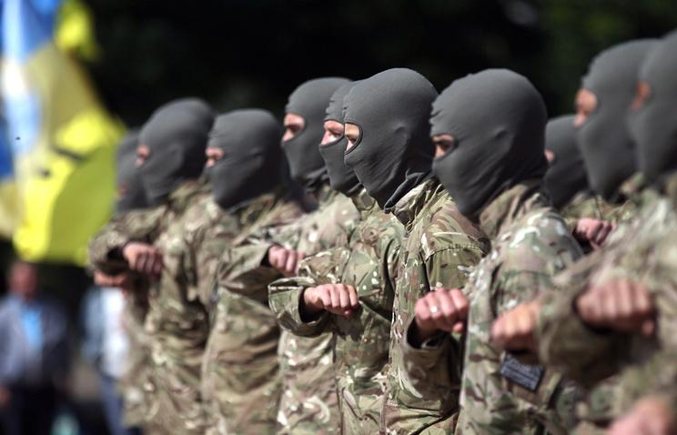 Azov battalion soldiers