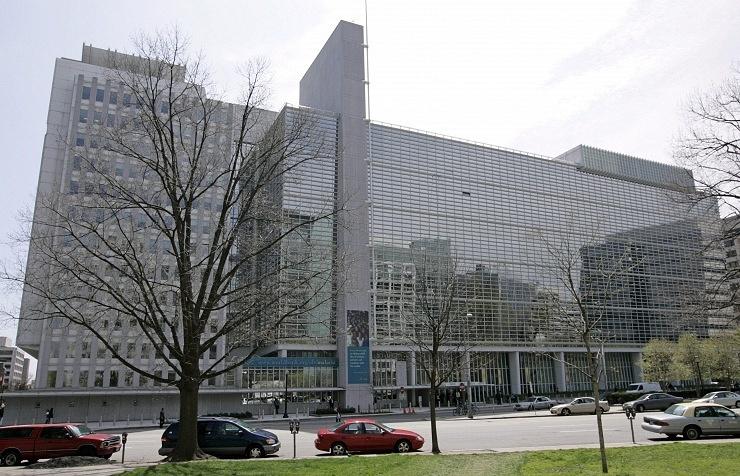 The World Bank headquarters in Washington DC, US