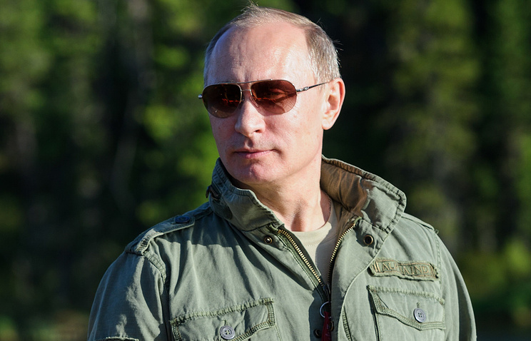 Russian President Vladimir Putin. Archive