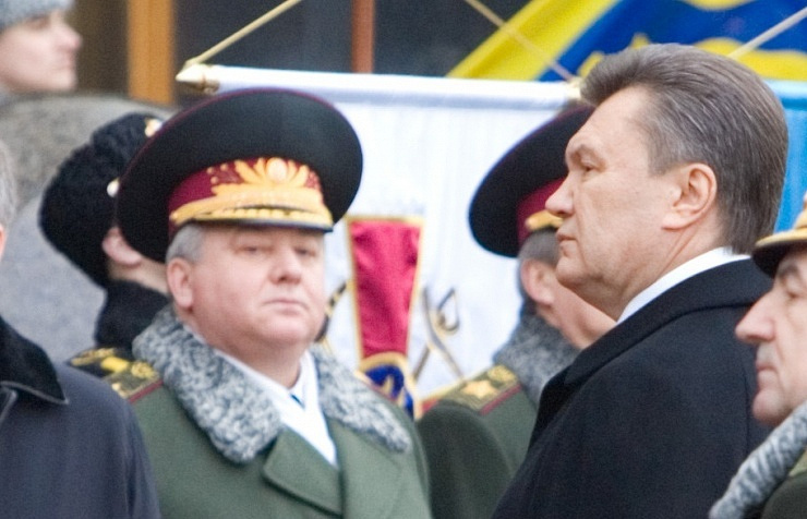 Oleksandr Kikhtenko and Viktor Yanukovych, 2010