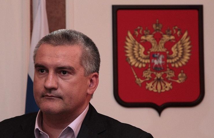 Crimea's head Sergey Aksyonov