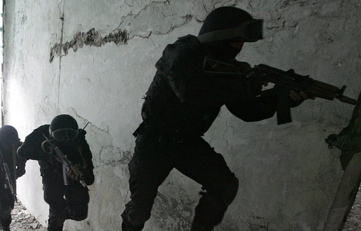 Kyrgyz special forces (archive)