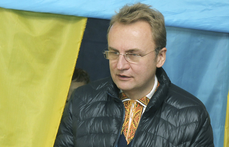 Lviv mayor and leader of the Samopomoshch association Andrei Sadovy
