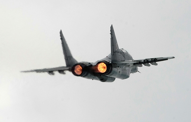 MiG-29 jet