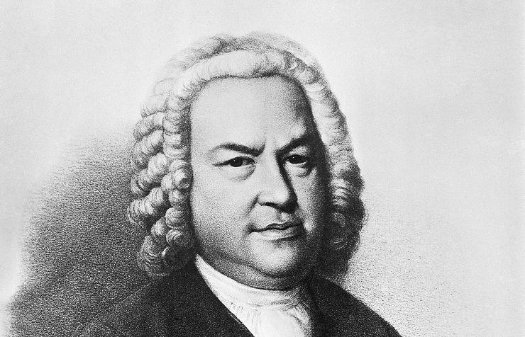 Johann Sebastian Bach, portrait by E. Haussmann