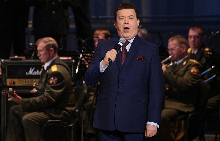 Russian singer Joseph Kobzon