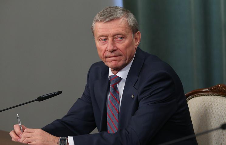 CSTO Secretary-General Nikolai Bordyuzha